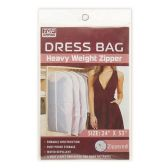 72 Units of Heavy Weight Dress Zipper Bag - Travel & Luggage Items
