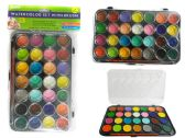72 Units of 28 Color Water Color Set