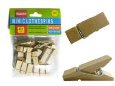 96 Units of 20pc Clothespins Cloth Pegs - Clothes Pins