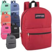 24 Units of Adventure Trails 17 Inch Backpack - 8 Colors - Backpacks 17""