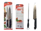 72 Units of 2pc Knife & Sharpener Set - Dinnerware > Spoons & Forks