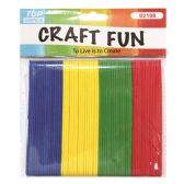 72 Units of 64 Count EVA sticks - Craft Wood Sticks and Dowels
