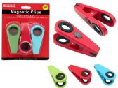 96 Units of 3pc Magnetic Clips - Clips and Fasteners