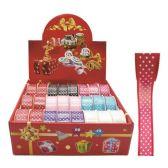 144 Units of Ribbon polka dot 3 Feet - Bows & Ribbons