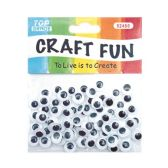96 Units of 10mm craft eye - Craft Kits