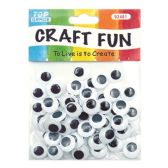 96 Units of 15mm craft eye - Craft Kits