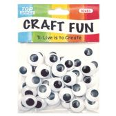 96 Units of 18mm craft eye - Craft Kits