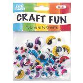 96 Units of Eyelash - Craft Kits