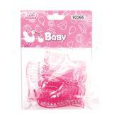 144 Units of Ten Count Mini Comb Baby Pink - Baby Shower