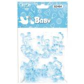 144 Units of Twelve Count Stroller Baby Blue - Baby Shower
