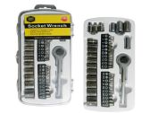 72 Units of 41pc Ratchet Socket Wrench Set - Wrenches