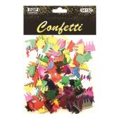 144 Units of Confetti Craft Birthday Cake And Gift - Streamers & Confetti