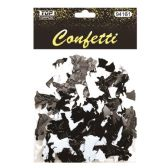 144 Units of Confetti Wedding Black And White - Streamers & Confetti
