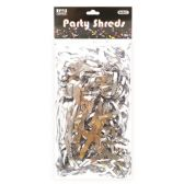 96 Units of Party Shred Silver - Bows & Ribbons