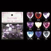 96 Units of Top Grade Craft Hearts