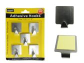 96 Units of 5pc Adhesive Hooks - Umbrellas & Rain Gear