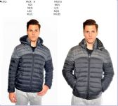 12 Units of Men's fashion Bubble Jacket - Mens Jackets