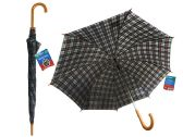 48 Units of Plaid Umbrella - Umbrellas & Rain Gear