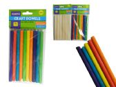 48 Units of 10 Piece Craft Dowels - Craft Wood Sticks and Dowels