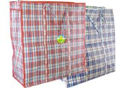 72 Units of Plaid Shopping Bag - Beach Toys