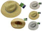 96 Units of Men's Straw Hat