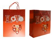 144 Units of Medium Heart Gift Bag