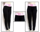 48 Units of Womens Assorted Color Yoga Pants And Athletic Pants - Womens Active Wear
