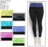 36 Units of Womens Assorted Color Yoga Pants And Athletic Pants