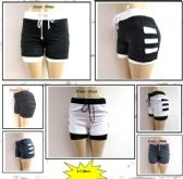 48 Units of Ladies Shorts Twin With Inside Lining.