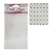 96 Units of Craft Rhinestone Sticker - Stickers