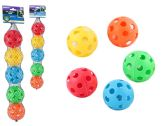 24 Units of 5pc Wiffle Balls - Pet Toys