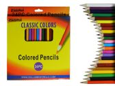 144 Units of 24pc Color Pencil Set - Pencils