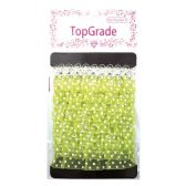 144 Units of Lime Trimming Polka Dot - Bows & Ribbons