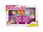 12 Units of Mini Kitchen Stove Play Set - Girls Toys