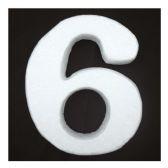 "96 Units of 6"" Foam number 6 - FOAM ITEMS"