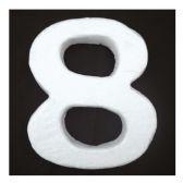 "96 Units of 6"" Foam number 8 - FOAM ITEMS"