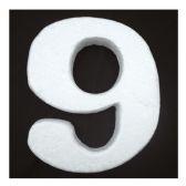 "96 Units of 6"" Foam number 9 - FOAM ITEMS"