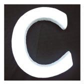 """96 Units of 6"""" Foam Letter C - FOAM ITEMS"""