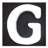 """96 Units of 6"""" Foam Letter G - FOAM ITEMS"""
