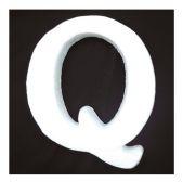 """96 Units of 6"""" Foam Letter Q - FOAM ITEMS"""