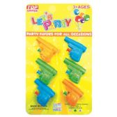 96 Units of Party Favor Six Piece Water Guns - Party Favors