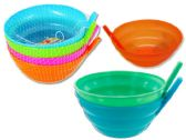 48 Units of 4pc Bowls With Straw - Dinnerware > Bowls