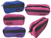144 Units of Cosmetic Bag With Mesh Insert - Cosmetic Cases