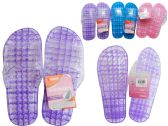 48 Units of Women's Jelly Massaging Flip Flops - Women's Flip Flops