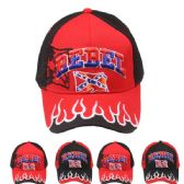 24 Units of Rebel Cap - Baseball Caps & Snap Backs