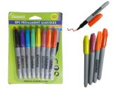 144 Units of 8 Pc Permanent Markers - MARKERS/HIGHLIGHTERS