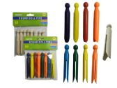 144 Units of 8pc Craft Doll Pin Round - Craft Wood Sticks and Dowels