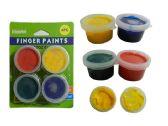 72 Units of 4pc Craft Finger Paints - Paint, Brushes & Finger Paint