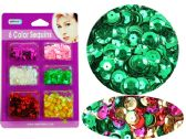 144 Units of Craft Sequins - MARKERS/HIGHLIGHTERS