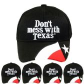 24 Units of DONT MESS WITH TEXAS CAP - Baseball Caps & Snap Backs
